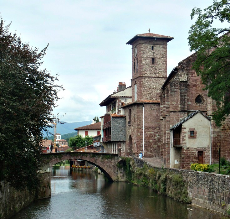 Pont Romain, Saint-Jean-Pied-de-Port