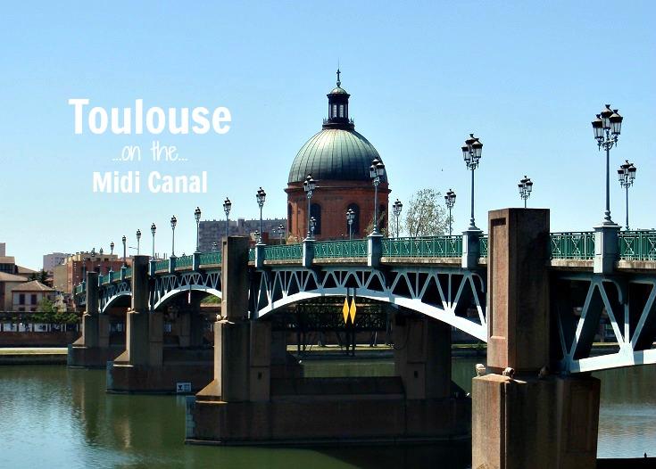 Pont Saint-Pierre and Dome de la Grave, Toulouse, France