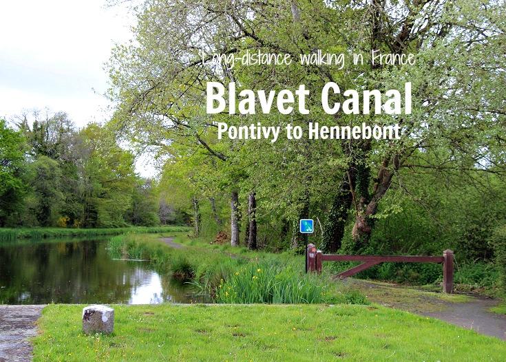Pontivy to Hennebont, Blavet Canal