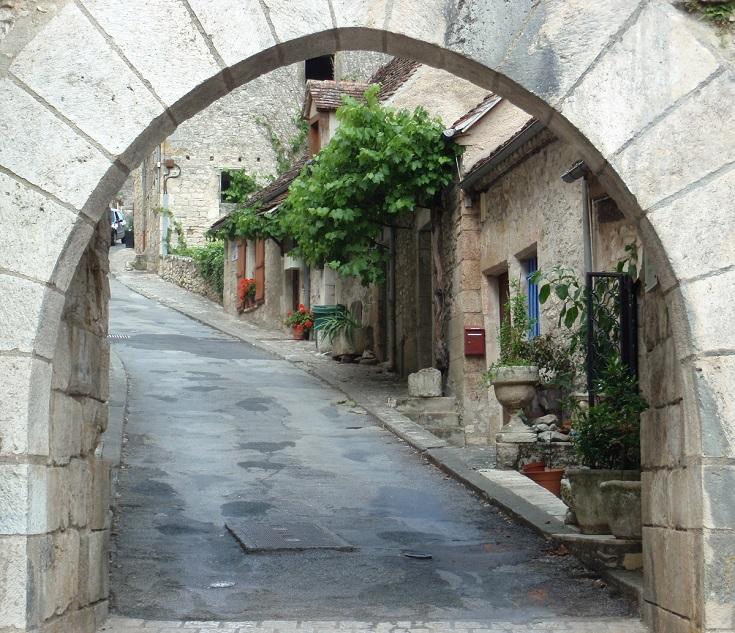 Porte Basse, Rocamadour, GR46 - GR652, France