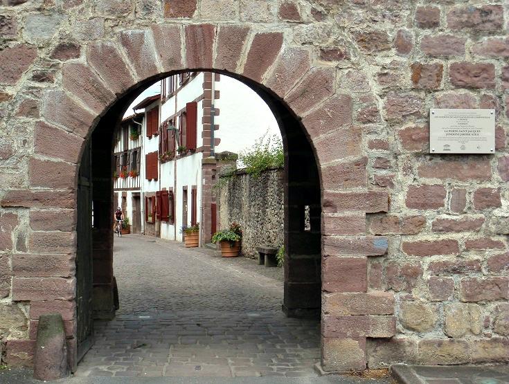 Porte Saint-Jacques, Saint-Jean-Pied-de-Port