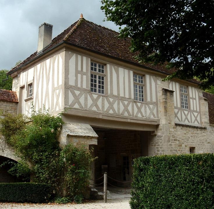Porters Lodge, Abbaye de Fontenay, France