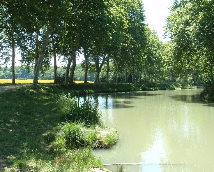 Renneville, Midi Canal, Canal walks in France
