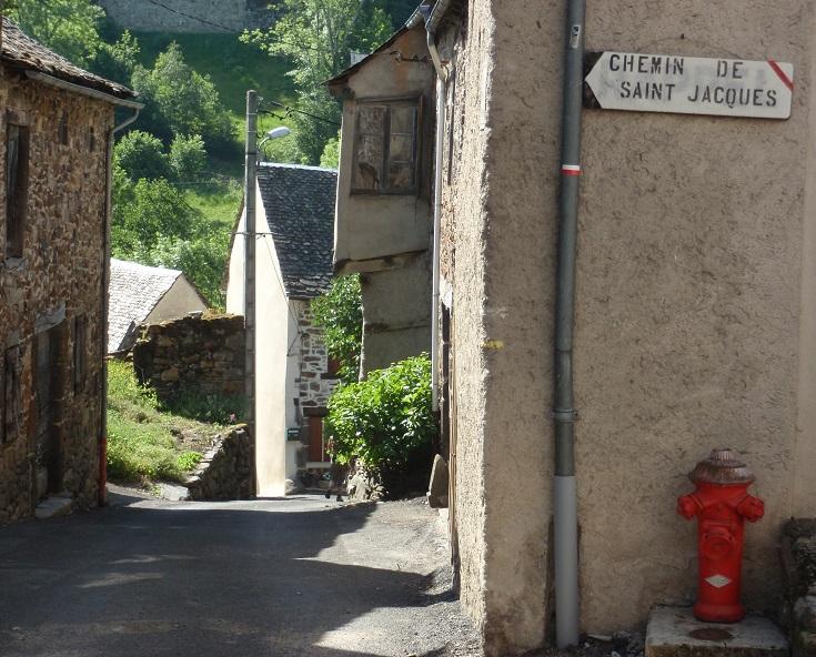 Saint-Chély-d'Aubrac, GR65, France