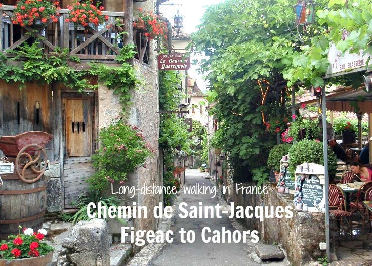 Saint-Cirq-Lapopie, Chemin de Saint-Jacques, France