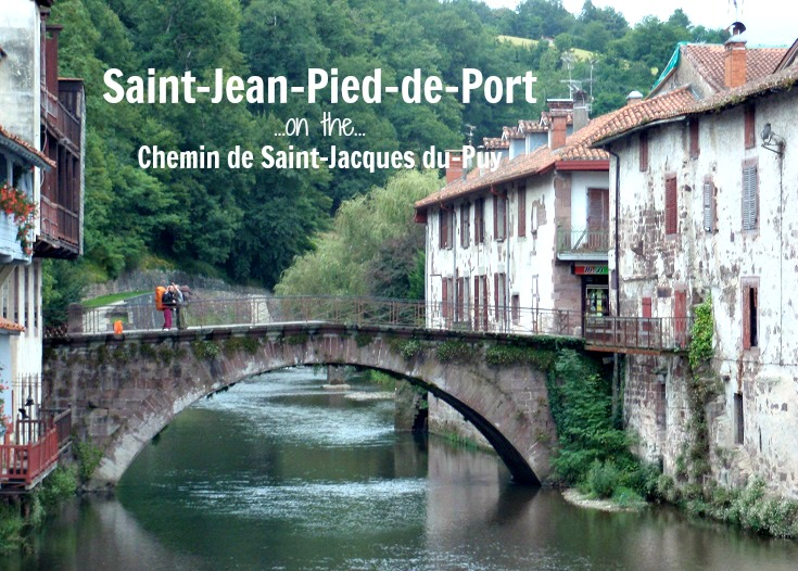 Saint-Jean-Pied-de-Port, GR65, France