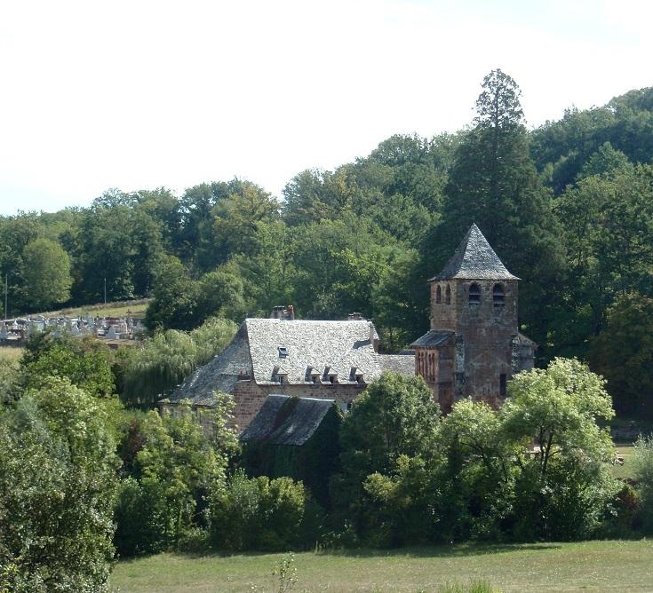 Saint-Pierre, Bessuéjouls, GR 65, Chemin de Saint-Jacques, France