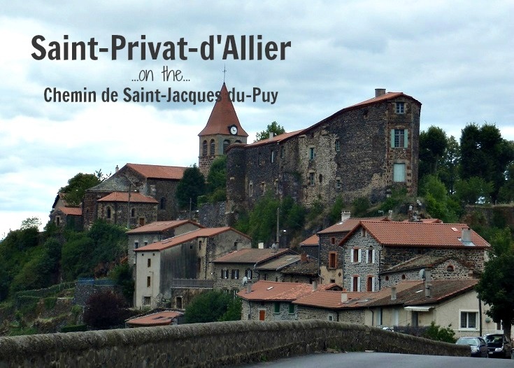 Saint-Privat d'Allier, GR65, France