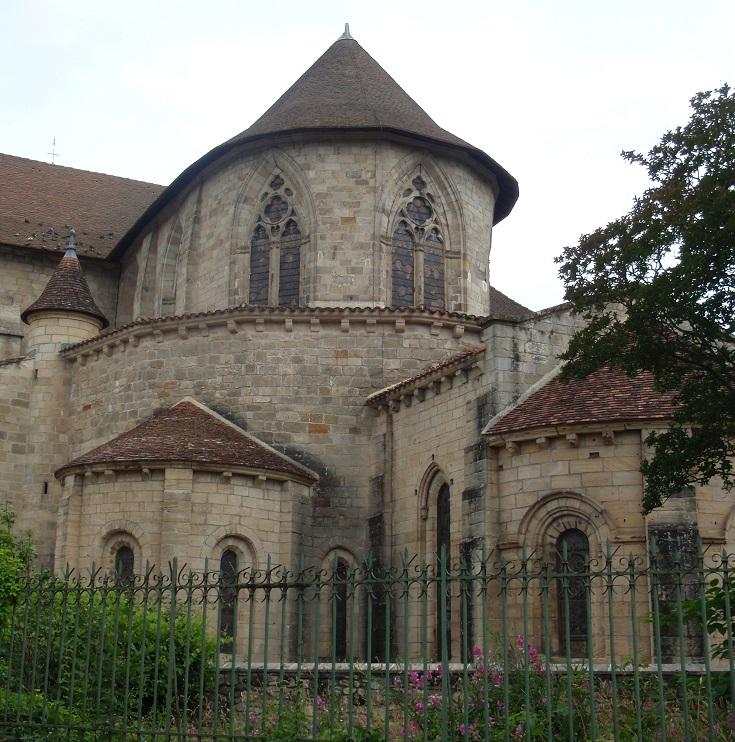 Saint-Sauveur, Figeac, Chemin de Saint-Jacques