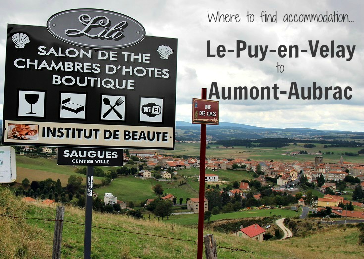 Saugues, GR 65, Chemin de Saint-Jacques, France