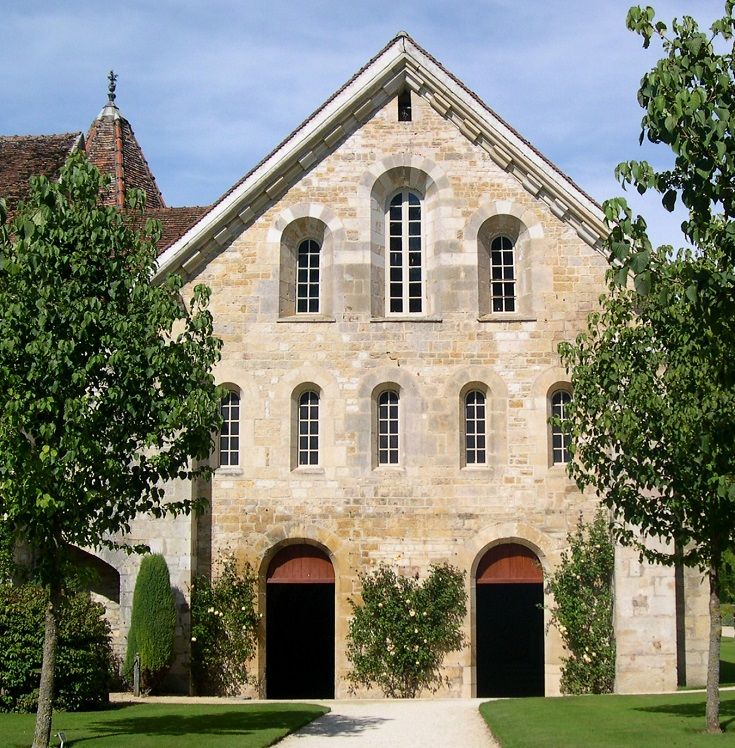 Scriptorium, Abbaye de Fontenay, France