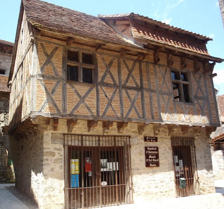 Tourist Office, Marcilhac-sur-Célé, GR 651, France