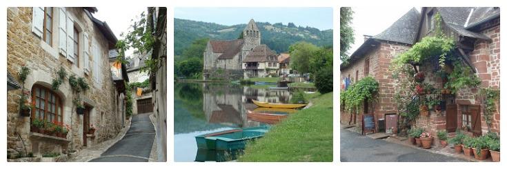 Turenne, Beaulieu-sur-Dordogne, Collonges-la-Rouge, Martel to Rocamadour guidebook